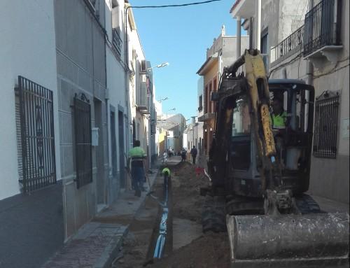 RENOVACIÓN DE TUBERÍAS EN EL ENTORNO DE LA CALLE MÁRTIRES