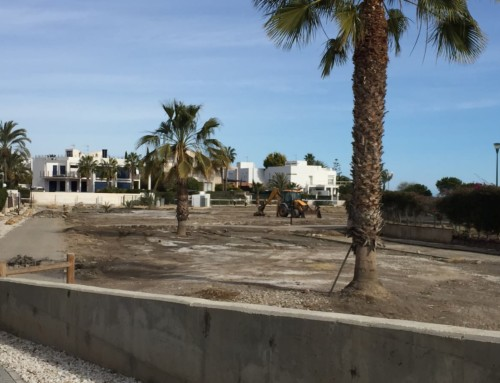 Codeur ejecuta la salida de la Rambla del Algarrobo al mar